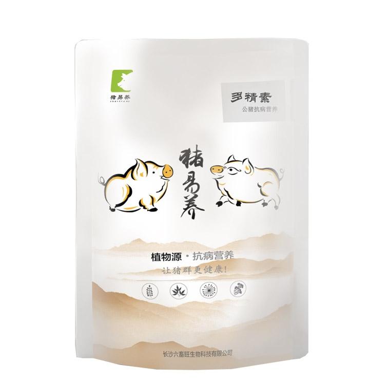 【猪易养】多精素 公猪专用 减少公猪死精  增强精子活力