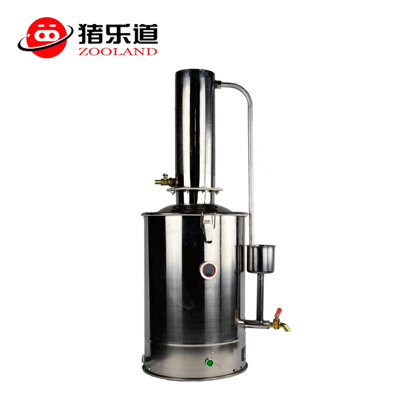 猪乐道 5L不锈钢单蒸馏水机5L