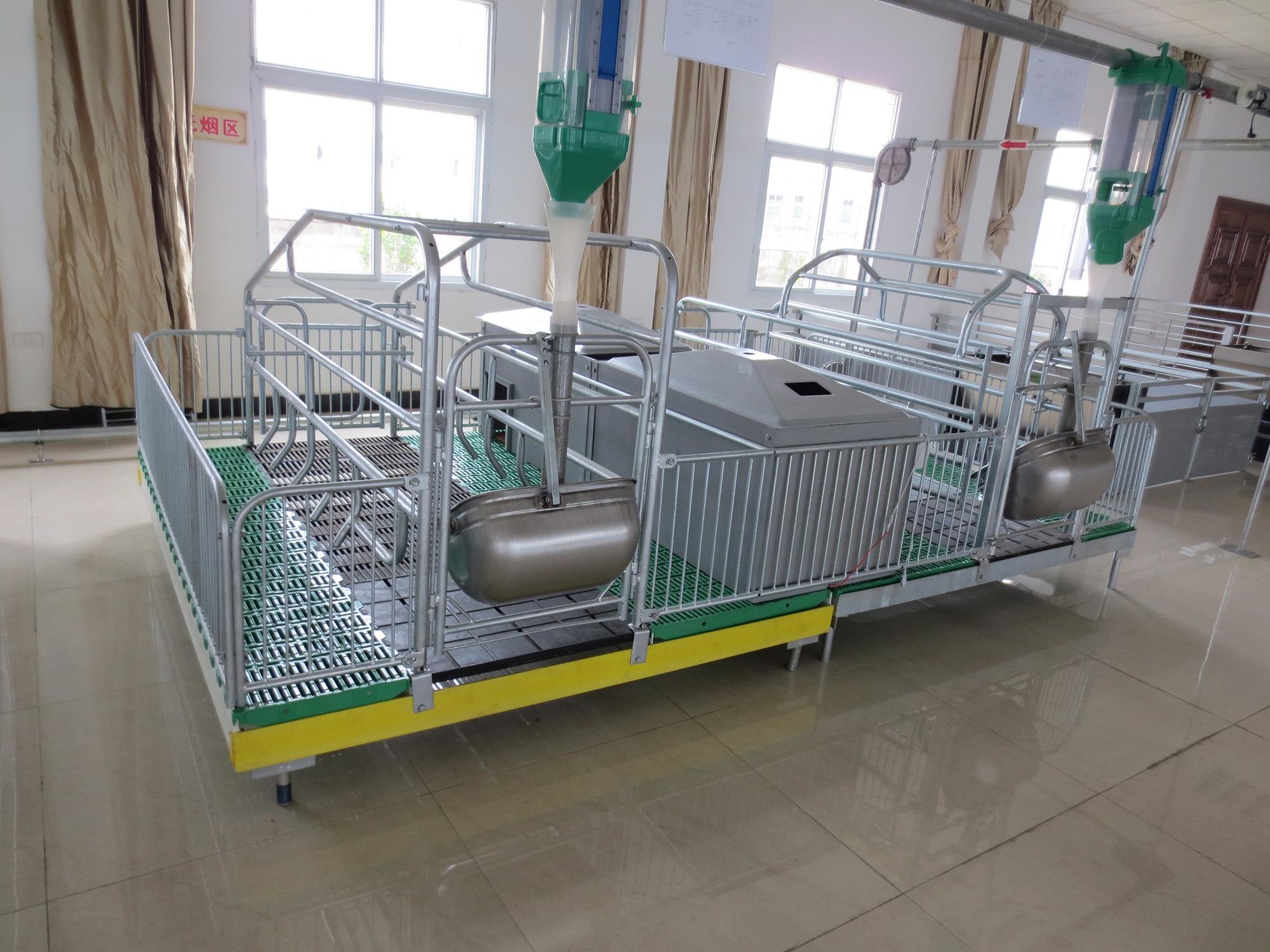 增鑫牧业 可调式分娩栏母猪产床仔猪分娩床双体产床连体产床