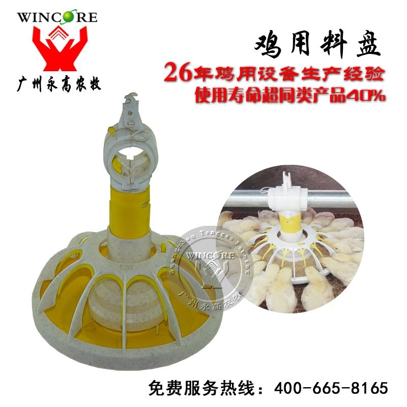 肉鸡用料盘 鸡自动下料盘 鸡用料盘 现代化自动养鸡设备厂家