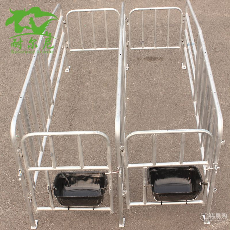 厂家直销定位栏 母猪定位栏 母猪限位栏带10个母猪食槽 养猪设备