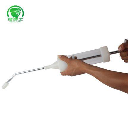 猪博士 注射器子宫清洗器 猪用人工授精设备养猪设备兽用器械