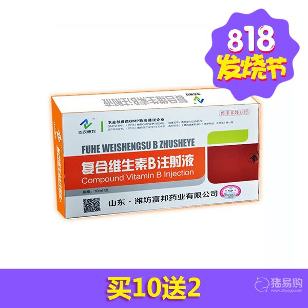 【支农惠牧】复合维生素B注射液 10ml/支