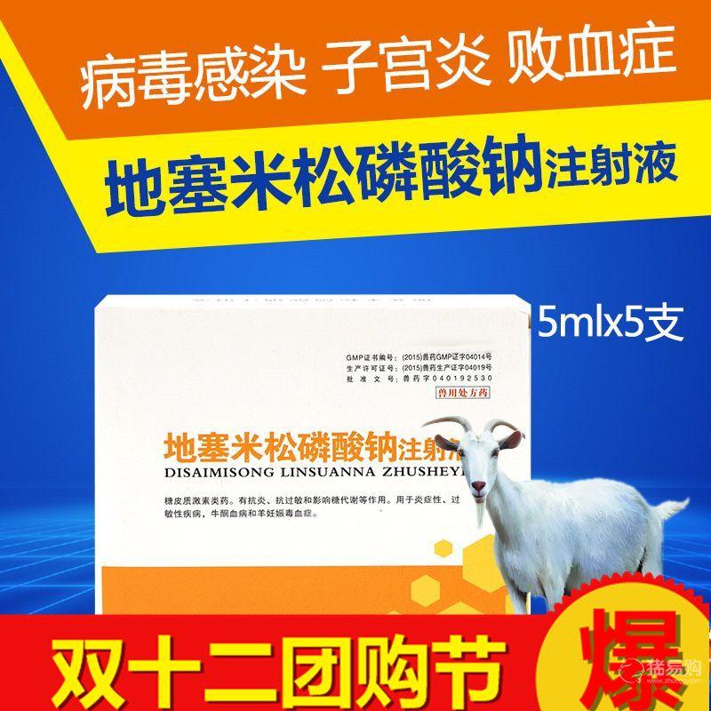 【华畜】地塞米松磷酸钠注射液   犬牛羊药猪药兽用消炎退热抗过敏
