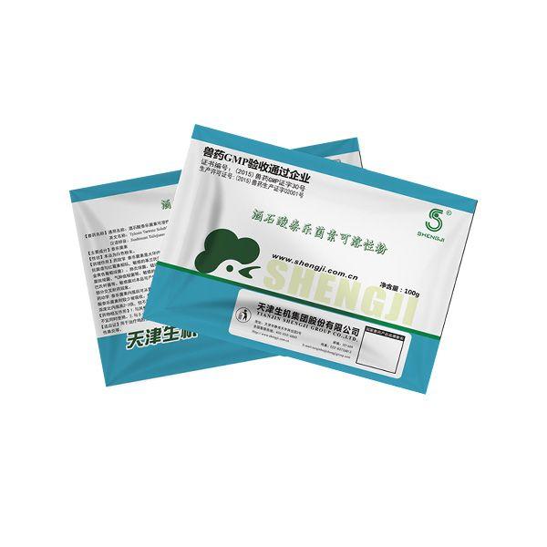 【生机动保】  酒石酸泰乐菌素可溶性粉  100g*150袋/件